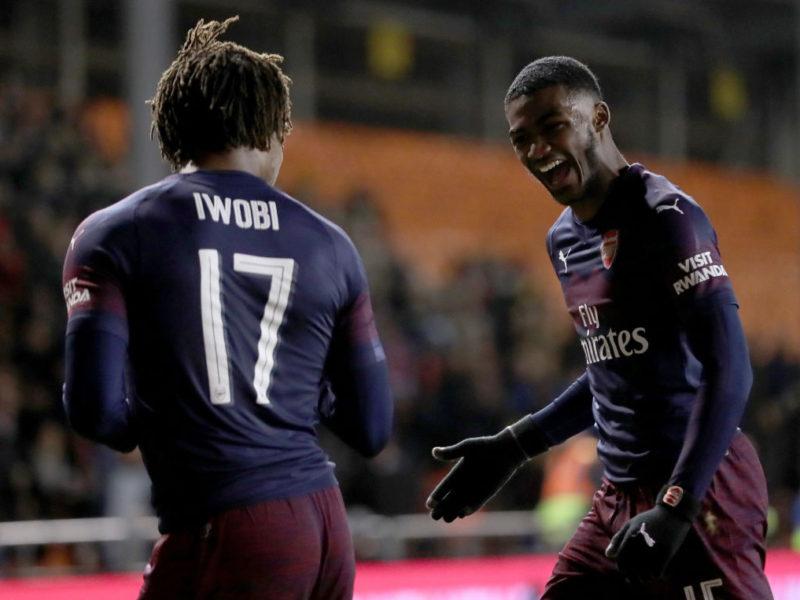 I riu Willock shkëlqen në triumfin e Arsenalit ndaj Blackpoolit në FA Cup