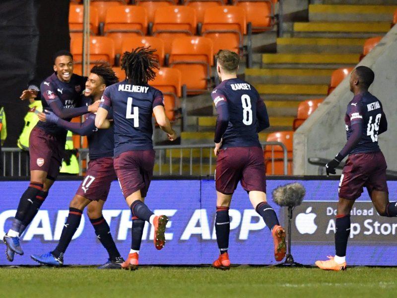 Shënon Iwobi, Arsenali 3 – 0 Blackpool