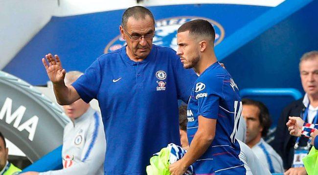 """""""Sarri dhe Hazard po punojnë taktikisht që t'i shmangin problemet"""""""