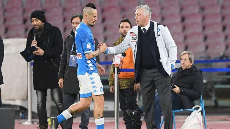 Ancelotti: Hamsik e dëshiron transferimin në Kinë, ne do t'ia japim këtë mundësi