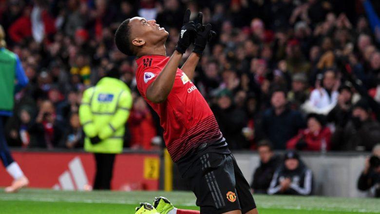Deschamps: Martial po luan më mirë nën urdhrat e Solskjaerit se sa të Mourinhos