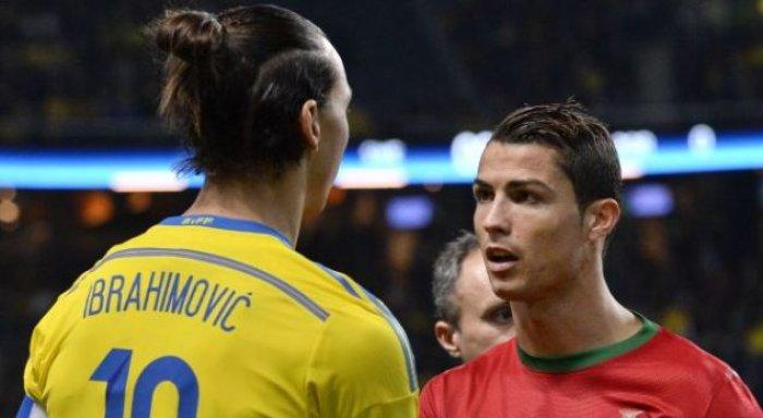 Ibrahimovic reagon përsëri ndaj Ronaldos: S'është sfidë t'i bashkohesh një ekipi të madh