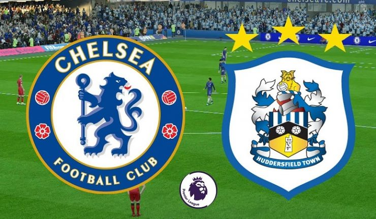 Formacionet zyrtare: Chelsea-Huddersfield Town