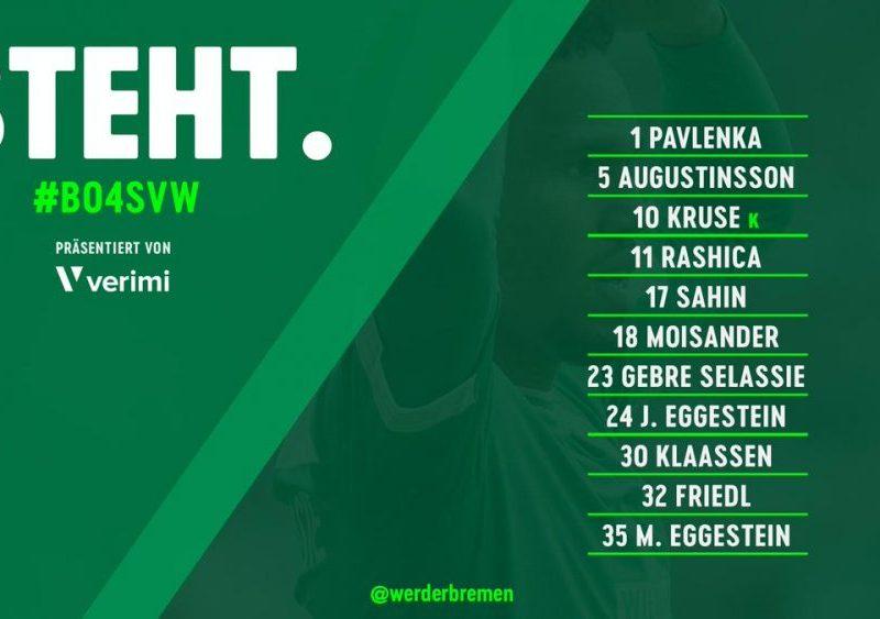 Milot Rashica titullar i padiskutueshëm te Werder Bremen