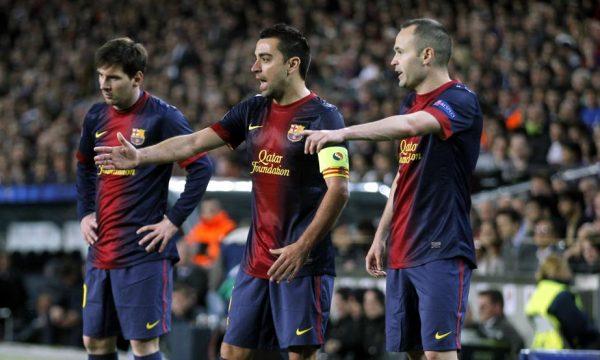 Pamje të reja të Messit, Xavit dhe Iniestas tregojnë sesa ta pandalshme e bënë tiki-takan ata