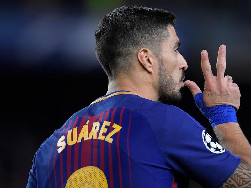 Suarez do të mungojë në këto dy ndeshje të Barçës