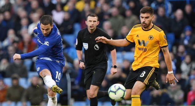 Hazard e shpëton Chelsean nga humbja