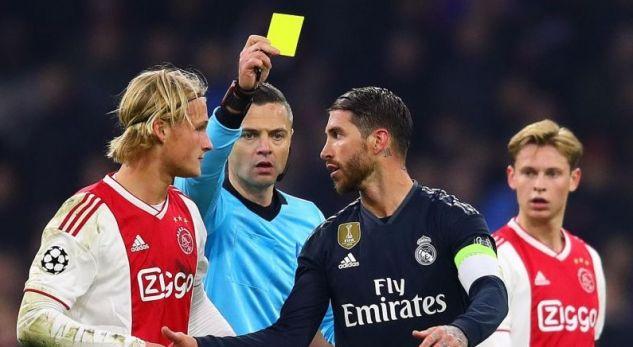 """De Jong: """"Ramos mund të pendohet për kartonin e verdhë"""""""