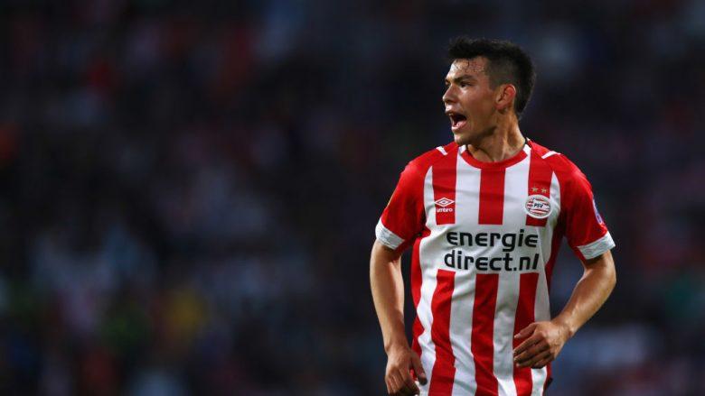 PSV nxjerr në shitje dhe i cakton çmimin Hirving Lozanos