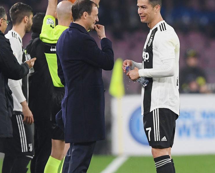 Allegri: Ronaldo ka bërë sezon të jashtëzakonshëm, është edhe ai i zhgënjyer si të gjithë ne
