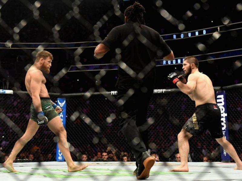 McGregor thotë se theu këmbën para ndeshjes me Nurmagomedovin