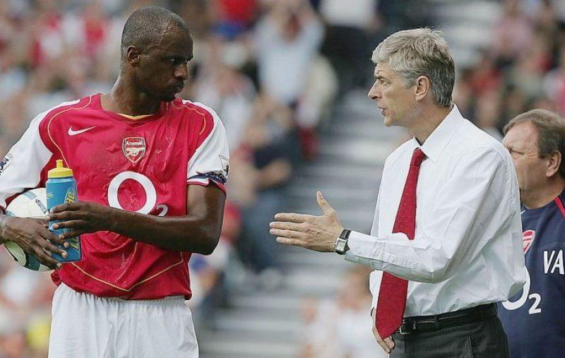 Wenger e mbështet Vieiran që të bëhet trajner i Arsenalit