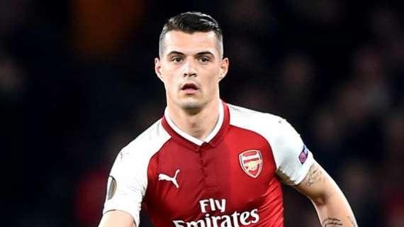 Takim me drejtues të Arsenalit, Xhaka kërkohet nga gjiganti italian