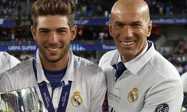 Zidane flet për djalin e tij që mbrojti portën e Realit