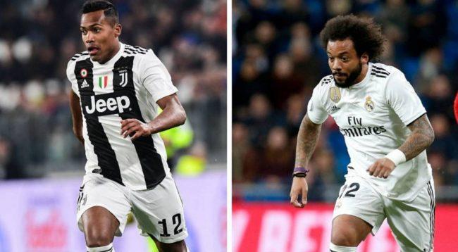 Sandro te PSG, Marcelo te Juventus