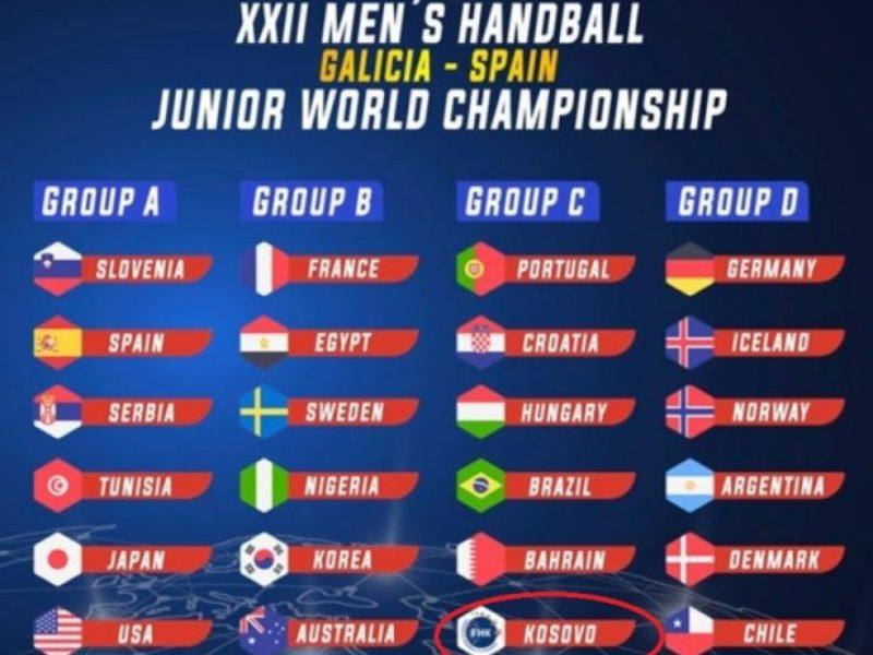 Hidhet shorti: Kosova në grup me Portugalinë, Kroacinë, Hungarinë, Brazilin e Bahrejnin