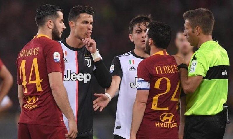 Zbulohen fjalët e Ronaldos për Florenzin gjatë ndeshjes Roma – Juventus
