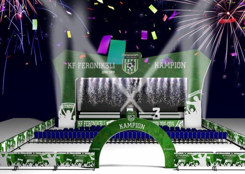 Feronikeli bën gati skenën për organizimin e festës së kampionit