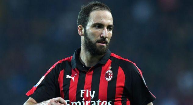 Lojtarët e Milanit tallen me Higuainin: Chelsea s'ka para për të t'i blerë rrobat në masë XXL
