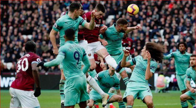 West Ham befason Arsenalin, shënon fitore para tifozëve të vet