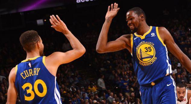 NBA: Golden State Warriors regjistrojnë fitoren e 10 më radhë, pas triumfit ndaj Boston Celtics