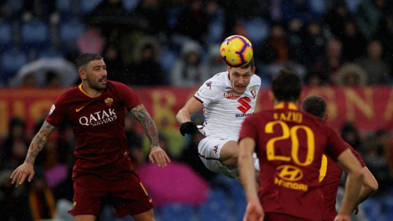 Roma 3-2 Torino, notat e lojtarëve
