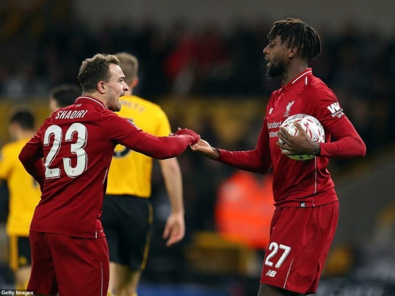 Nota e Shaqirit në humbjen e Liverpoolit