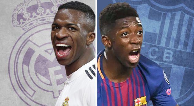 """Dembele vs Vinicius: E ardhmja e """"El Clasicos"""""""