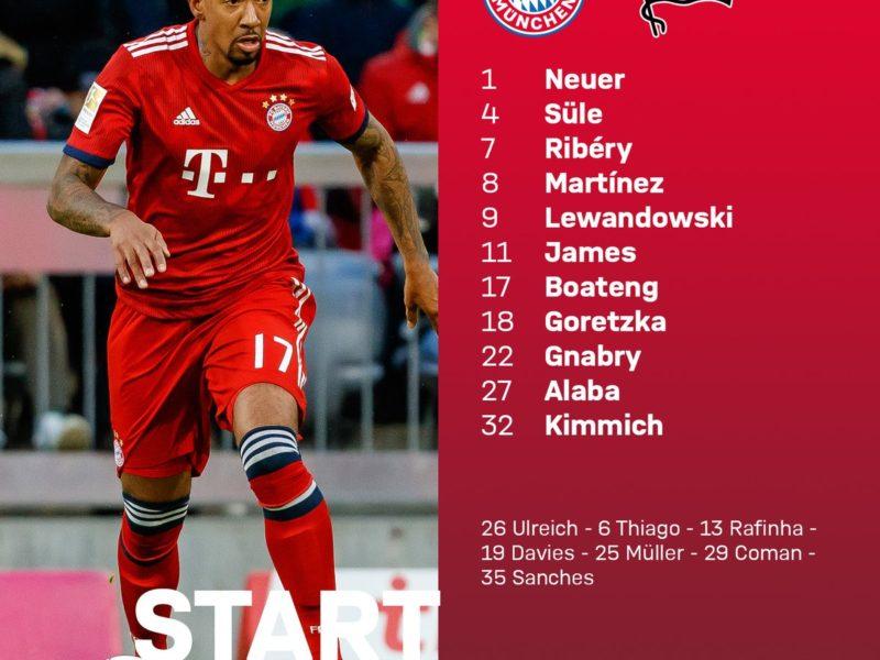 Bayern – Hertha, startojnë James e Boateng