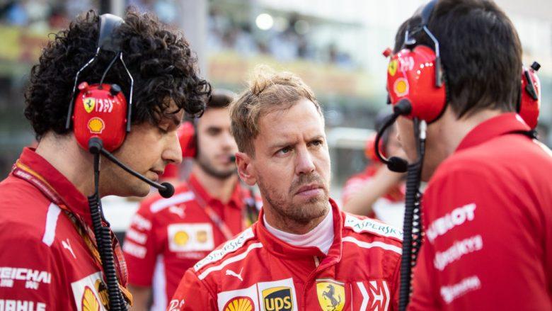 Sebastian Vettel pëson aksident në testet e Spanjës