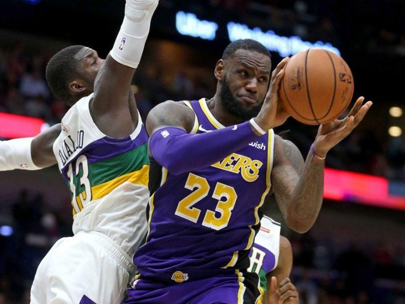 James me Lakers rrezikojnë të mbesin jashtë plejofit