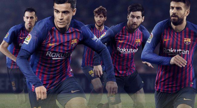 Nike ia huq me fanellat e dyta të Barcelonës për sezonin e ri