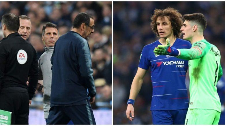 Pasi nuk pranoi të zëvendësohet, Chelsea e dënon me para Kepa Arrizabalagan