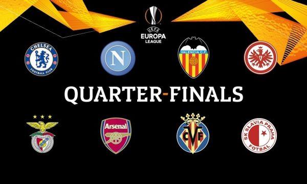 Mësohen çiftet çerekfinaliste në Europa Ligë