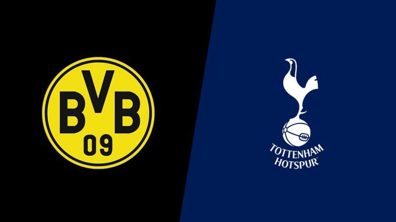 BVB-Tottenham: Formacionet e mundshme, Gotze i prin sulmit gjerman