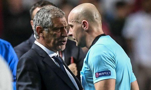 Gjyqtari nuk akordoi penallti kundër Serbisë, i kërkon falje trajnerit të Portugalisë