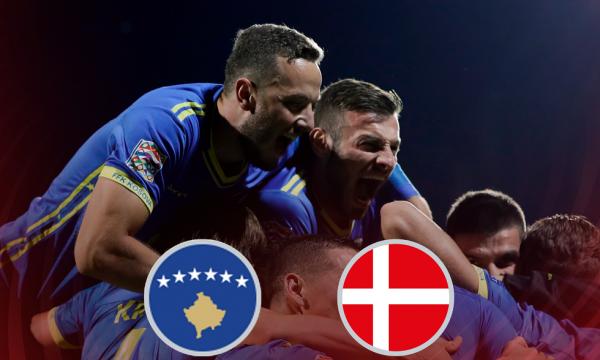 Kosova – Danimarka, formacionet e mundshme