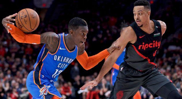 NBA: Oklahoma fiton në mënyrë dramatike ndaj Portland, Milwaukke vazhdon me humbje