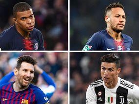20 lojtarët më të paguar në botë