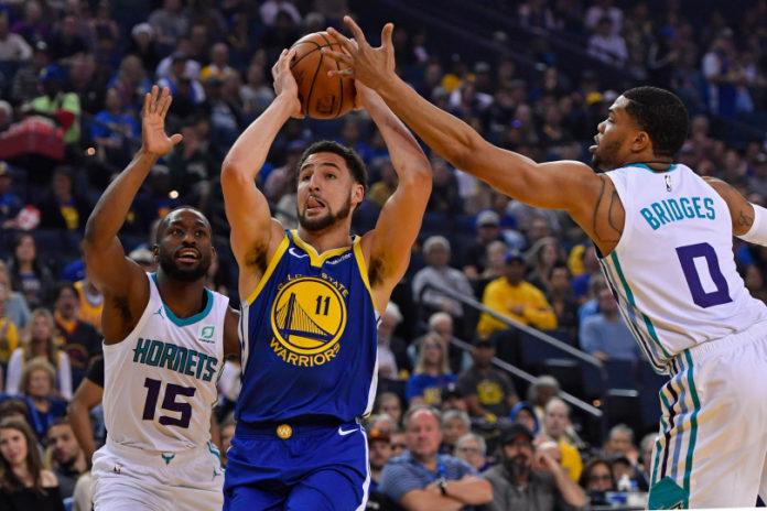 """Warriors shkatërrojnë Hornets, Nuggets dështojnë ndaj Wizards, """"bien"""" edhe Thunder"""