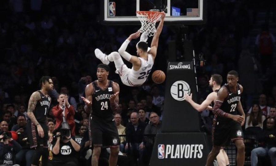 NBA: 76-ers dhe Blazers kalojnë në fazën tjetër të play-offs