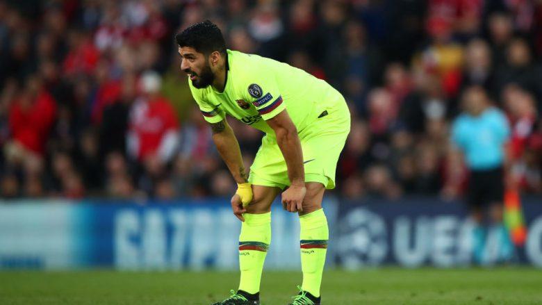 Luis Suarez do të operohet në gju, mungon në finalen e Copa del Rey