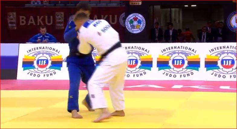 Akil Gjakova prek çerekfinalen në Baku