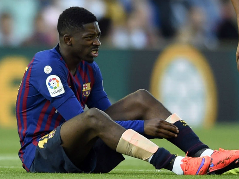 Dembele i mungon Barcelonës ndaj Liverpoolit