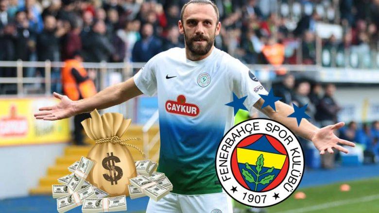 Fenerbahçe e bën milioner Vedat Muriqin, i ofron rrogë tri herë më të lartë sesa fiton në Rizespor